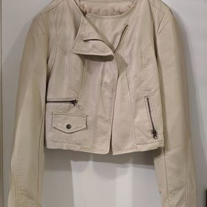 Maurices cream shell jacket
